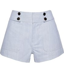 derek lam 10 crosby denim shorts