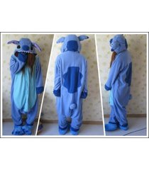 adult kigurumi one-piece pajamas  blue-stitch angel-lilo cosplay x-mas gift