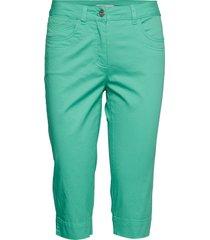 capri pants skinny jeans grön brandtex