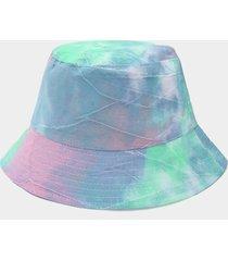 sombrero de pescador con estampado tie dye