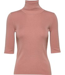 merino elbow sleeve top t-shirts & tops knitted t-shirts/tops roze filippa k