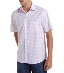 camisa dudalina manga curta fio tinto maquinetada xadrez masculina (xadrez, 7)