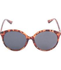 gafas mujer marco animal print color café, talla uni