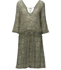 recreation dress jurk knielengte groen odd molly