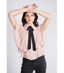 blusa bond palo rosa sioux