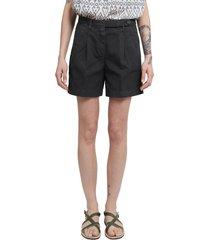 massimo alba black sardina shorts