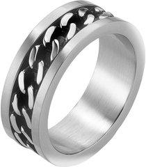 anello in acciaio per uomo