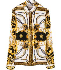 young versace shirt with multicolor press