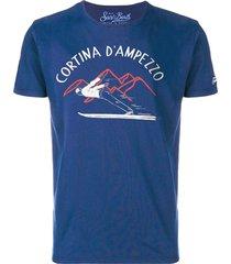 cortina dampezzo bluette t-shirt
