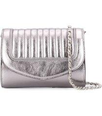 delage jeanne pm clutch - silver