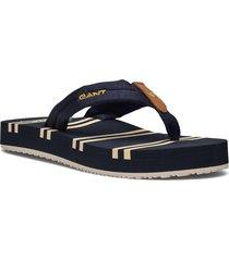 lemonbeach beach san shoes summer shoes flip flops svart gant