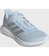 zapatilla deportiva galaxar run w menta adidas performance