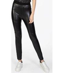calã‡a feminina legging recortes pto - preto - feminino - dafiti