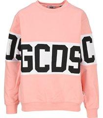 gcds logo band sweatshirt