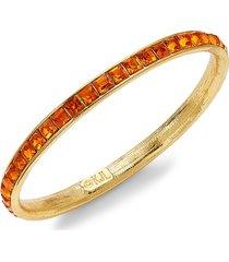 kenneth jay lane women's goldplated bangle bracelet