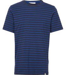 t-shirt cftroels t-shirts short-sleeved blå casual friday