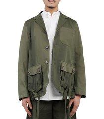 jw anderson khaki jacket