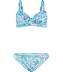 bikini con ferretto (blu) - bpc bonprix collection