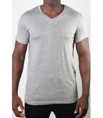 members only men's basic v-neck tee