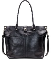 patricia nash heritage marseille leather tote