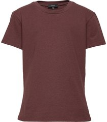 tiny tee 2.relaxed t t-shirts & tops short-sleeved röd theory