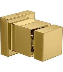"""acabamento de registro cubo gold 3/4"""" - 4900.gl86.pq - deca - deca"""