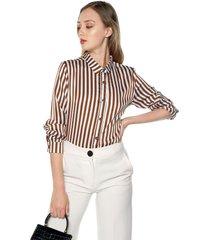 camisa blanco-café paris district