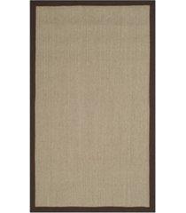 safavieh natural fiber sage and brown 3' x 5' sisal weave rug
