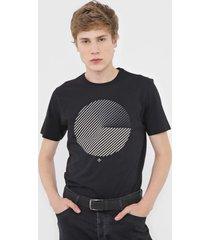 camiseta dudalina circl preta