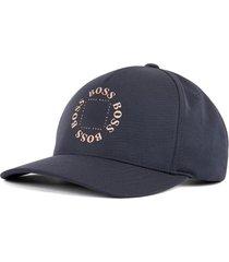 boné boss cap-circle azul marinho