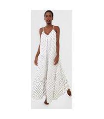 camisola gap longa underwear tier dobby off-white/cinza
