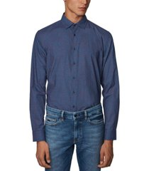 boss men's slim-fit shirt