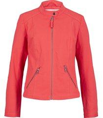 giacca biker con inserti elasticizzati (rosso) - bpc bonprix collection