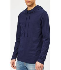 polo ralph lauren men's popover hoodie - cruise navy - l - blue