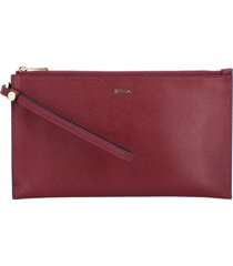 furla clutch ares babylon xl furla bag in textured leather