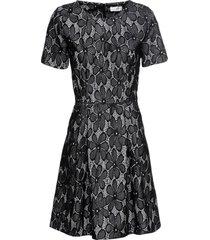 abito elasticizzato con pizzo (nero) - bodyflirt