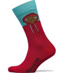 socks sigtuna extra terrestrial ankelstrumpor korta strumpor röd dedicated
