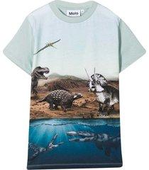 molo light blue t-shirt