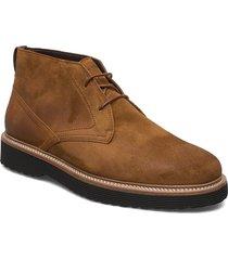 grizzly 3a desert boots snörskor brun marc o'polo footwear