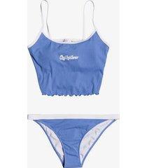 quiksilver womens cropped tank bikini top for women