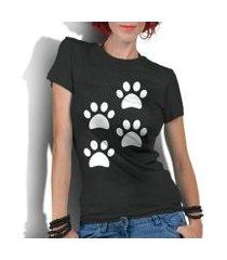 camiseta criativa urbana 4 patas dog