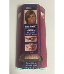 instant smile deluxe small fake teeth novelty beauty cosmetic top veneer