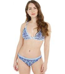 bikini triángulo compose azul h2o wear