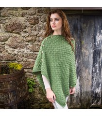 the trellis cape green one size