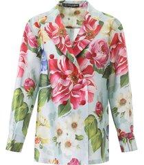 dolce & gabbana floral shantung jacket