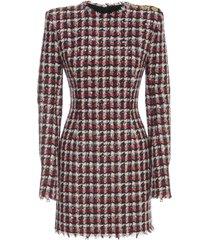 short ls tweed dress