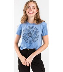 horoscope tee - chambray