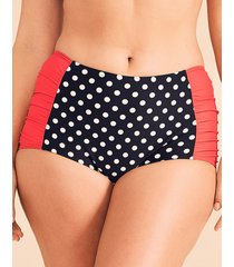 tuscany spot high-waist tummy control bikini brief