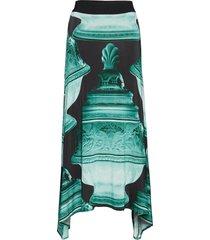mable p knälång kjol grön tiger of sweden