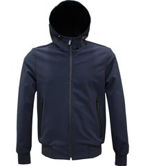 thermisch gehechte jacket hood